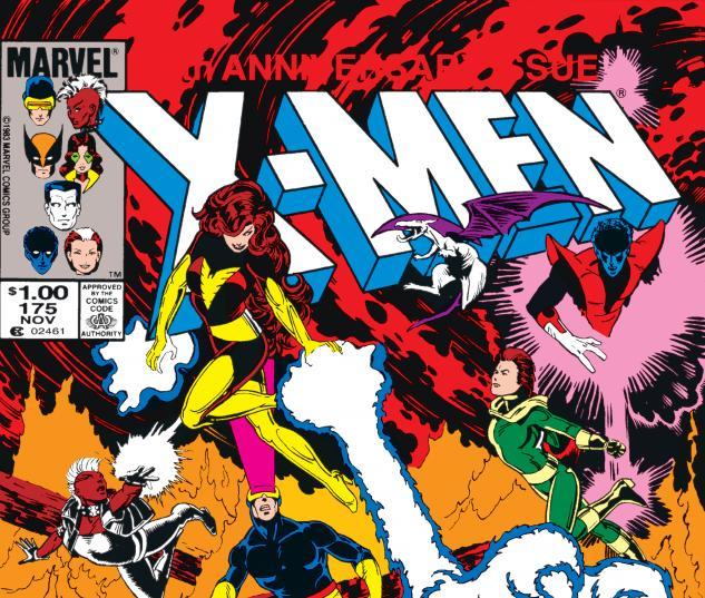 Uncanny X-Men (1963) #175 Cover