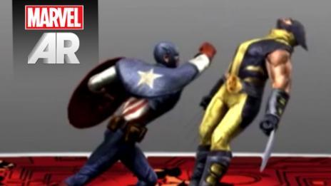 Marvel AR Spotlight Reel from SXSW 2013