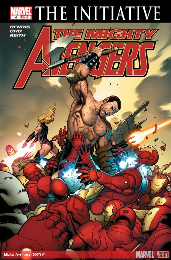 The Mighty Avengers (2007) #4