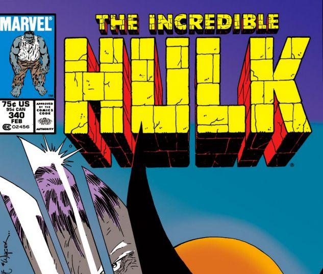 Incredible Hulk #340