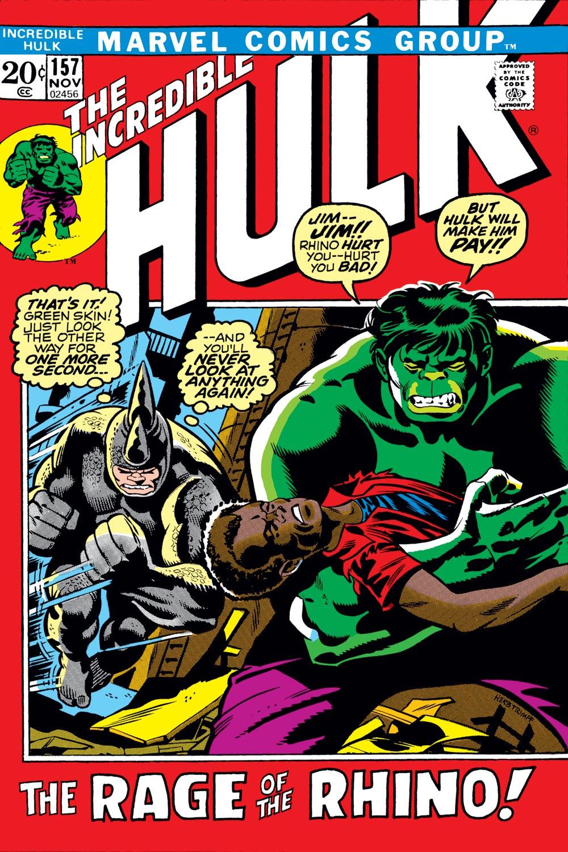 Incredible Hulk (1962) #157