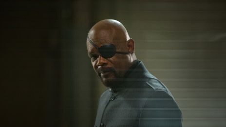 Samuel L. Jackson stars as Nick Fury in Marvel's Captain America: The Winter Soldier