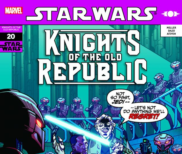 Star Wars: Knights Of The Old Republic (2006) #20