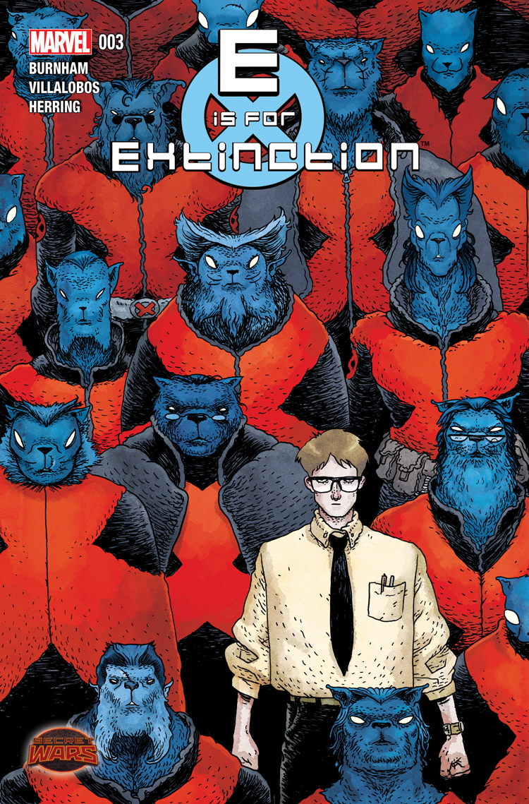 E Is for Extinction (2015) #3