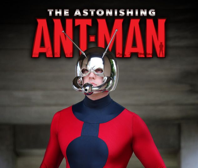 The Astonishing Ant-Man #1 variant art by Soloroboto Industries
