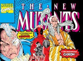 New Mutants #98 cover art