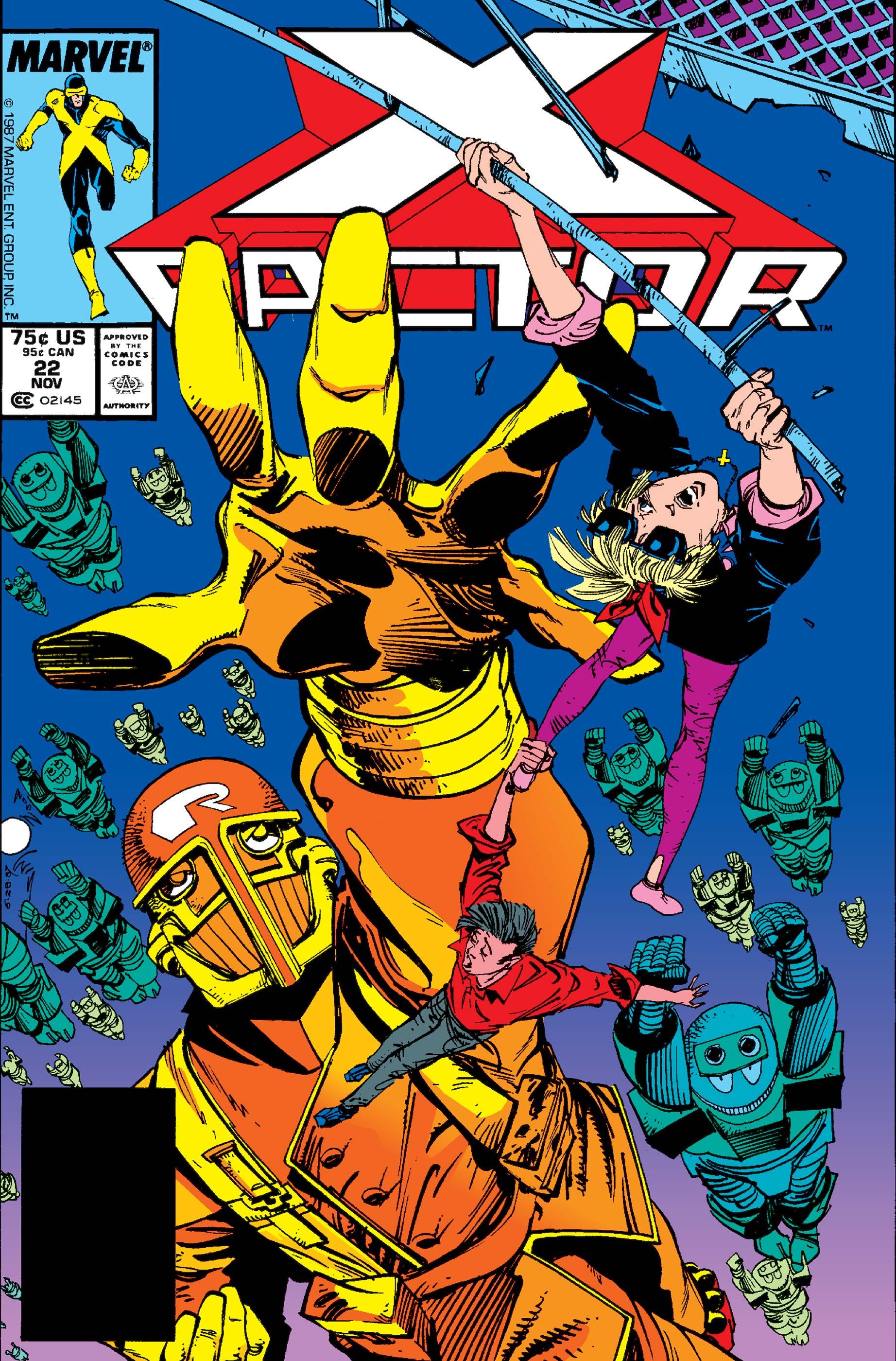 X-Factor (1986) #22