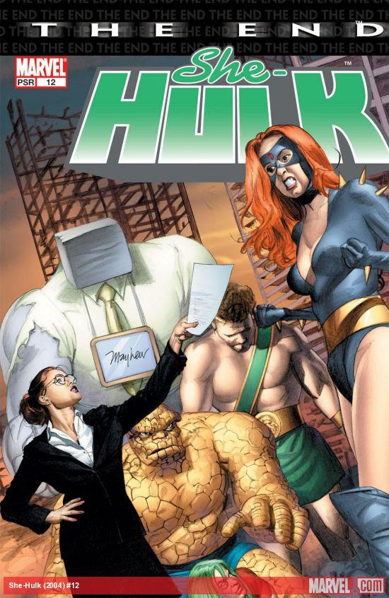 She-Hulk (2004) #12
