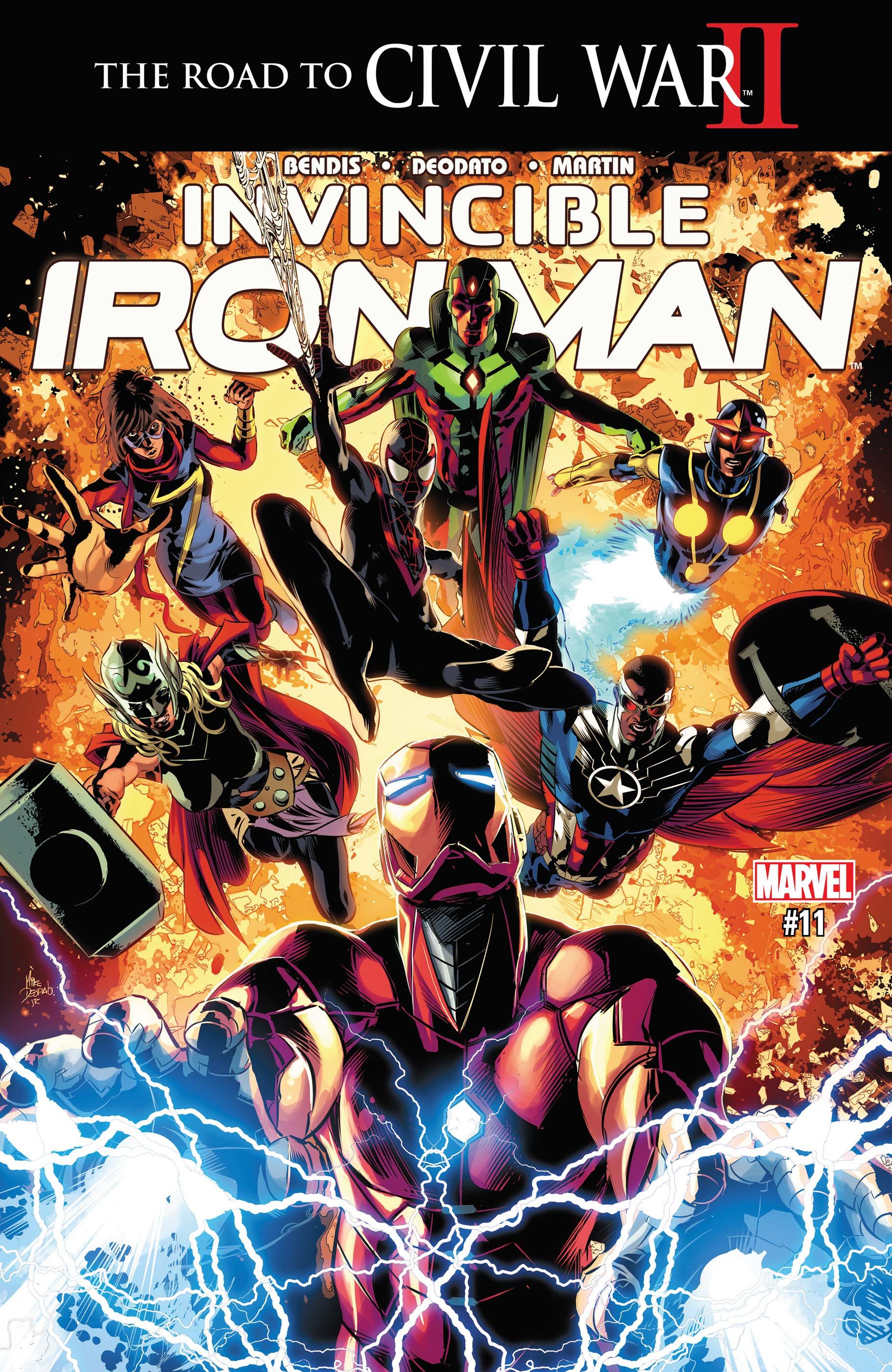 Invincible Iron Man (2015) #11