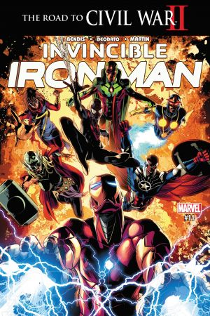 Invincible Iron Man (2015) #11