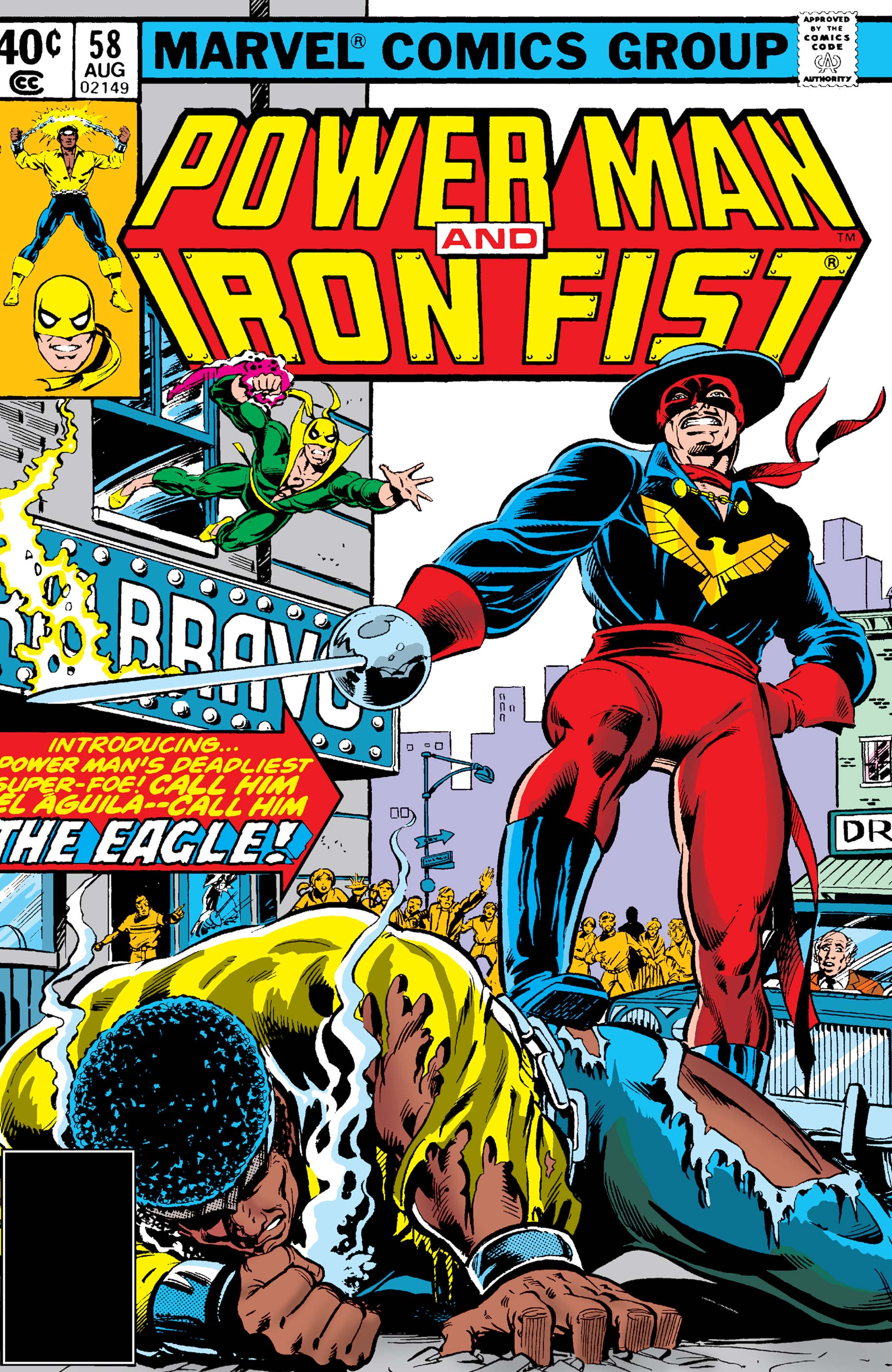Power Man and Iron Fist (1978) #58
