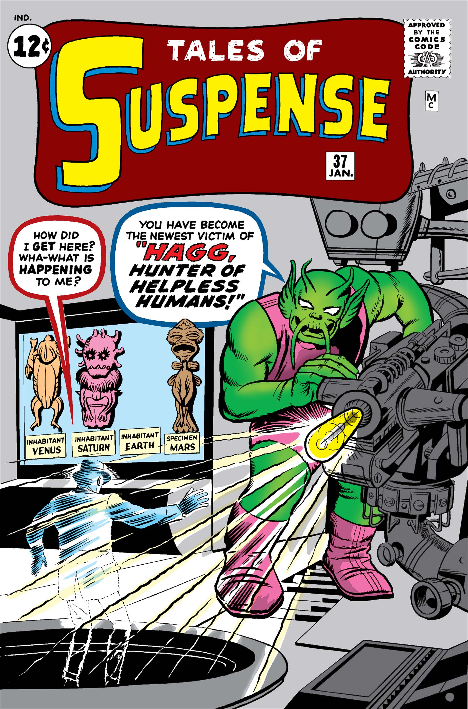 Tales of Suspense (1959) #37