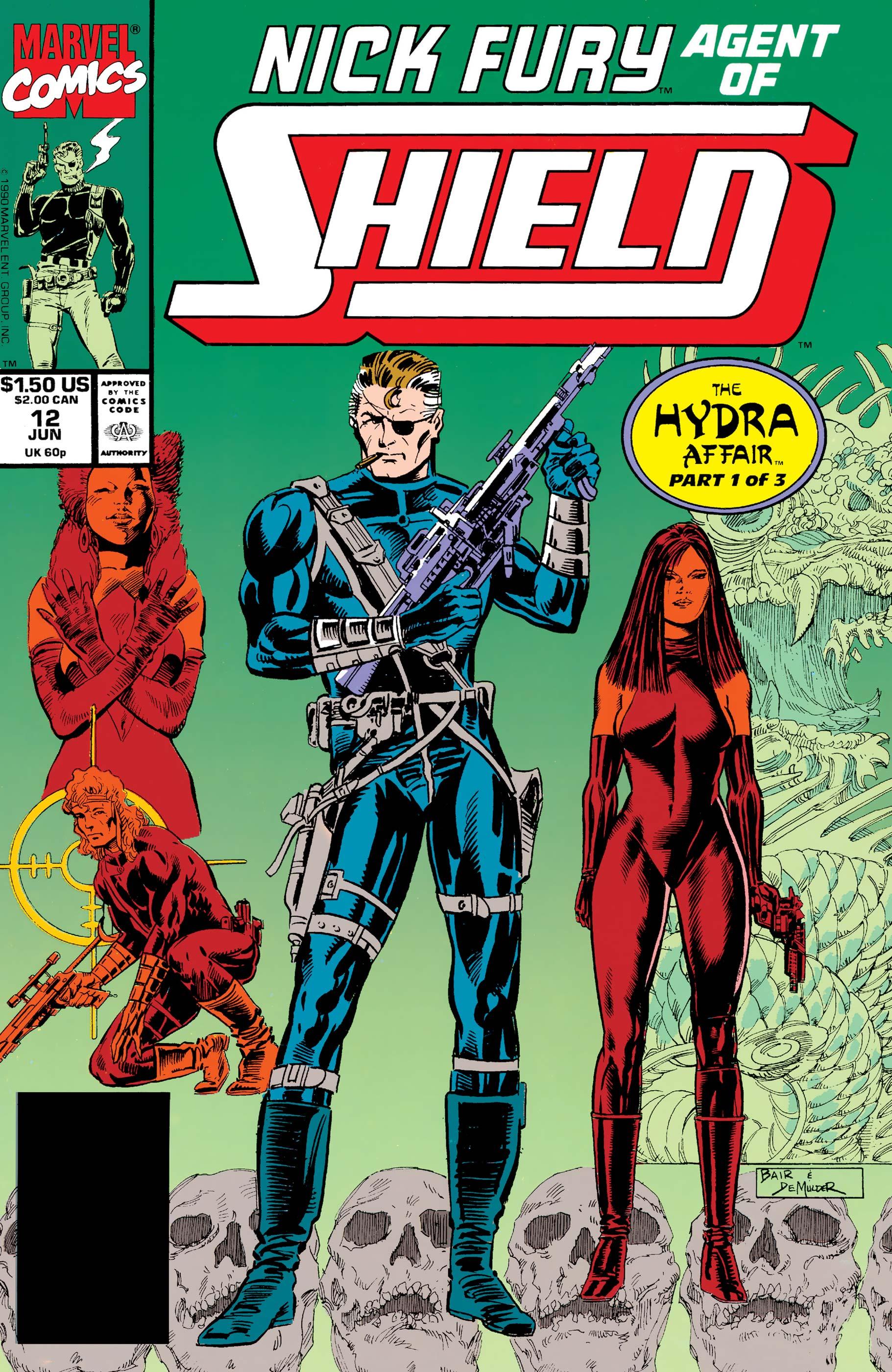 Nick Fury, Agent of S.H.I.E.L.D. (1989) #12