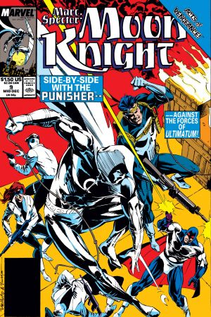 Marc Spector: Moon Knight (1989) #9