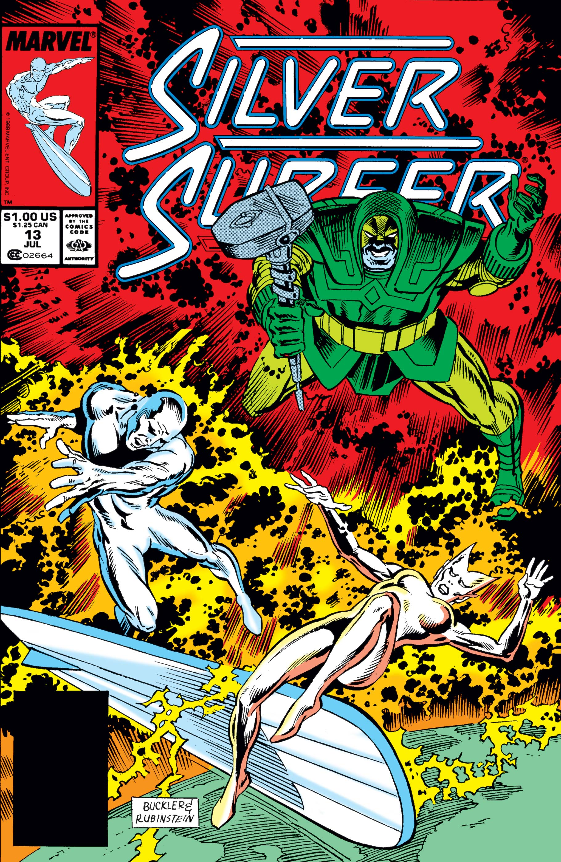 Silver Surfer (1987) #13