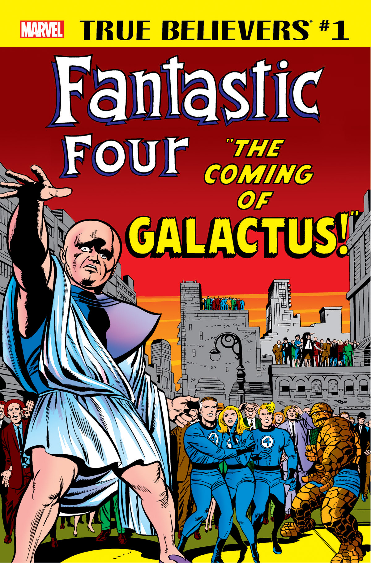 True Believers: Fantastic Four - The Coming of Galactus (2018) #1
