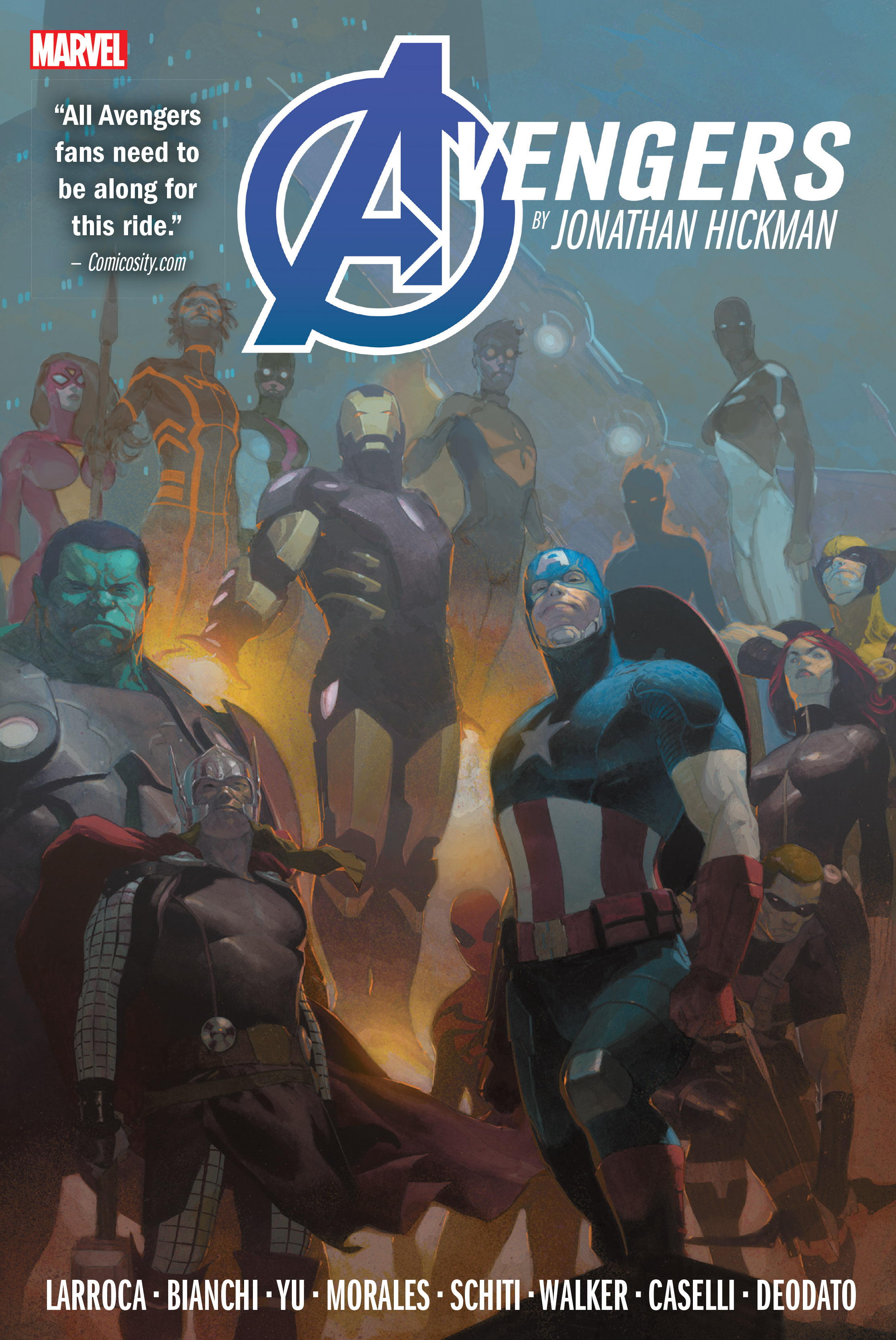 Avengers By Jonathan Hickman Omnibus Vol. 2 (Hardcover)