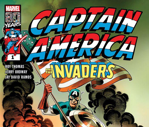 CAPTAIN AMERICA & THE INVADERS: BAHAMAS TRIANGLE 1 #1