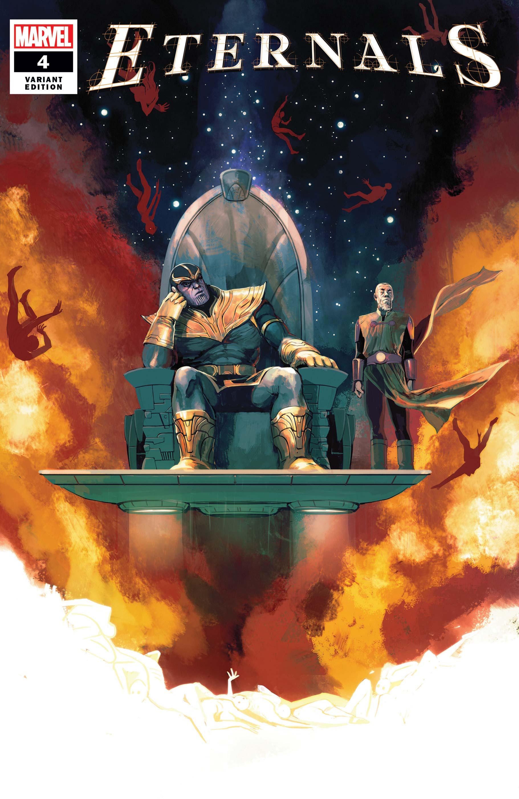 Eternals (2021) #4 (Variant)