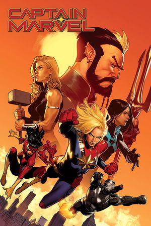 Captain Marvel Vol. 5: The New World (Trade Paperback)
