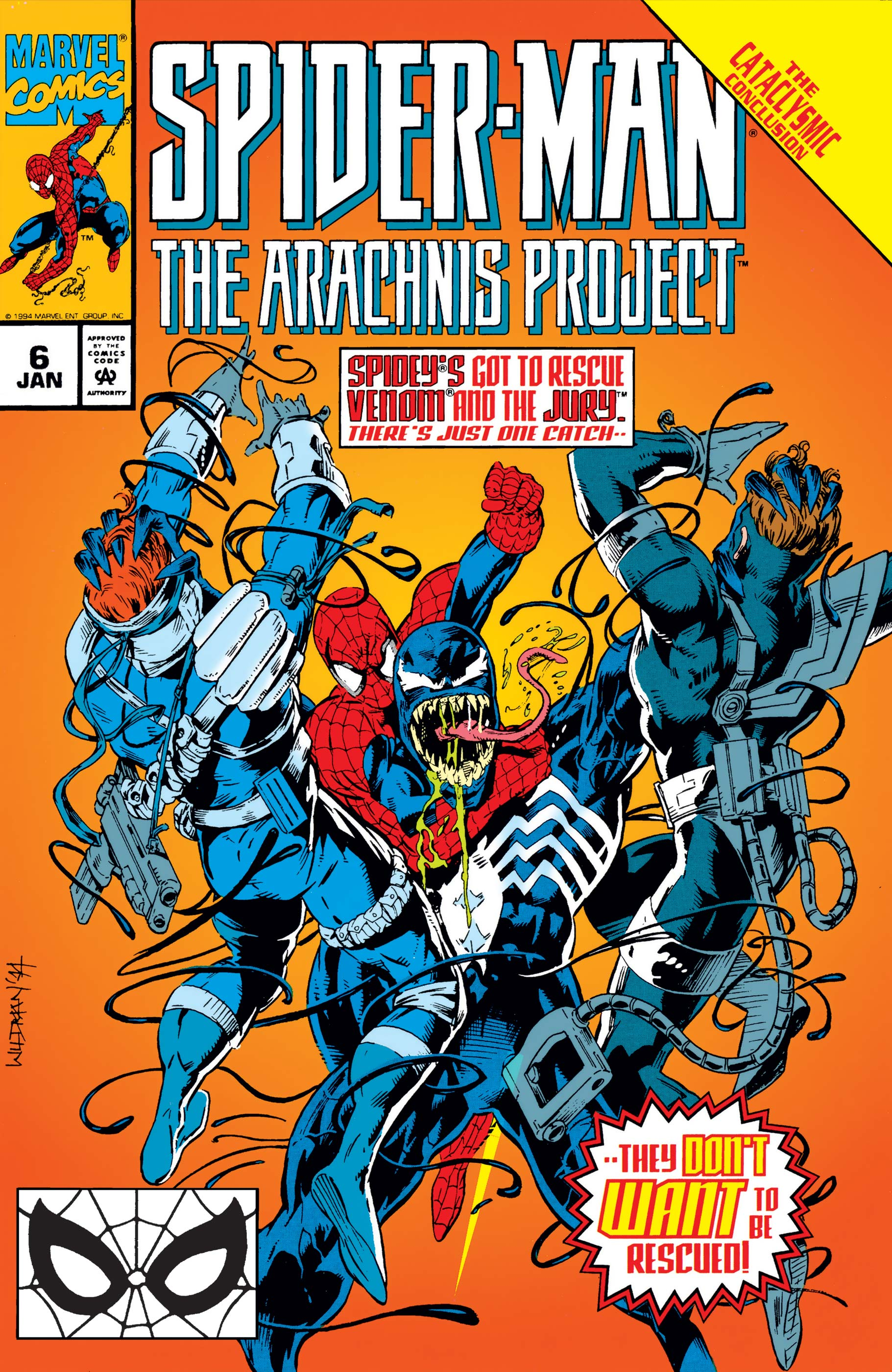 Spider-Man: The Arachnis Project (1994) #6