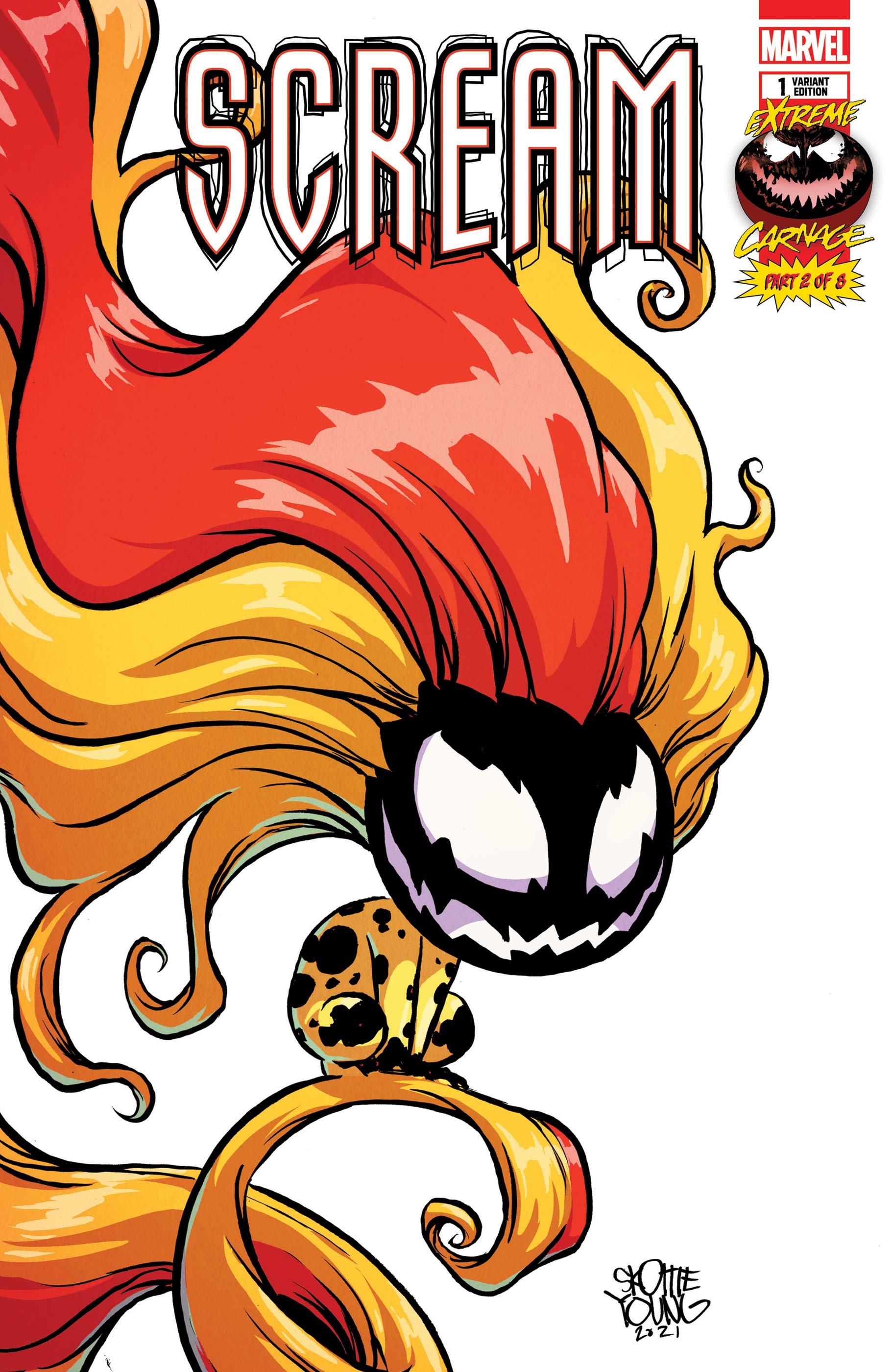 Extreme Carnage: Scream (2021) #1 (Variant)