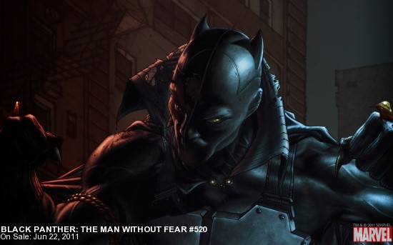 Black Panther: Man Without Fear #520 Wallpaper