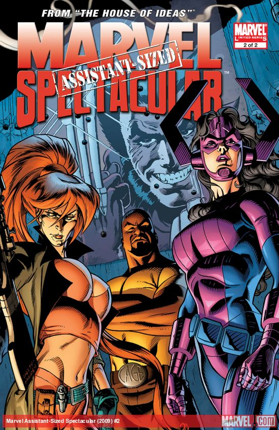 Marvel Assistant-Sized Spectacular (2009) #2
