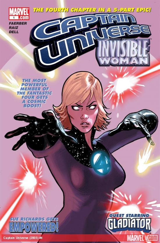 Captain Universe (2005) #4