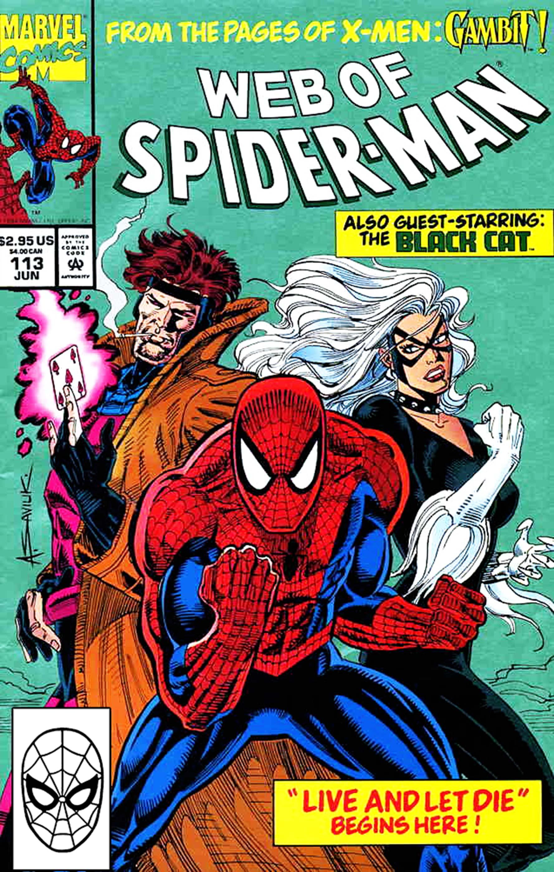 Web of Spider-Man (1985) #113