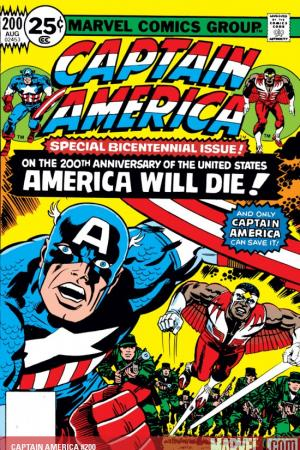 Captain America #200