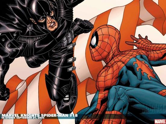 Marvel Knights Spider-Man (2004) #18 Wallpaper