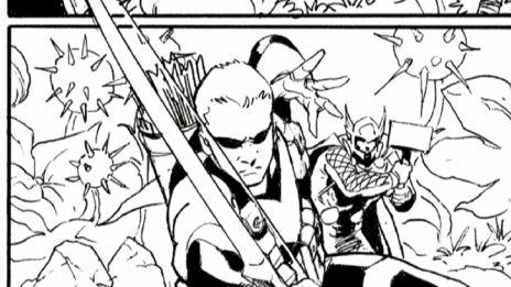 Marvel AR: Art Evolutionfrom Avengers #4