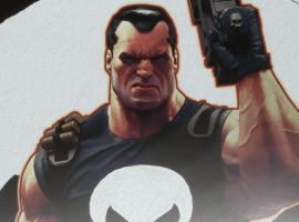 Punisher, Brutal Justice Premium Art Print from Sideshow Collectibles