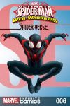cover from Marvel Universe Ultimate Spider-Man: Spider-Verse Infinite Comic (2018) #6