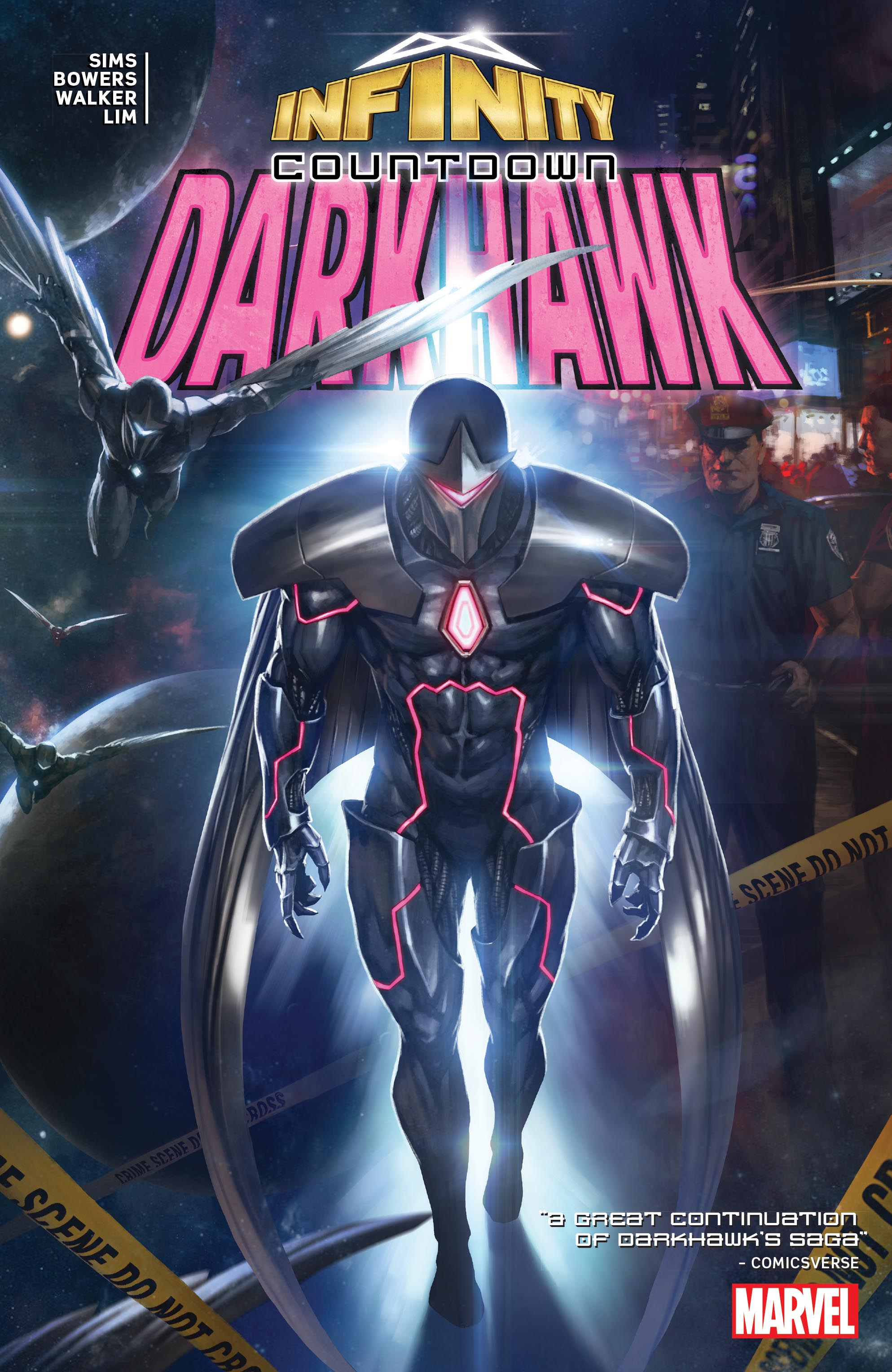 Infinity Countdown: Darkhawk (Trade Paperback)