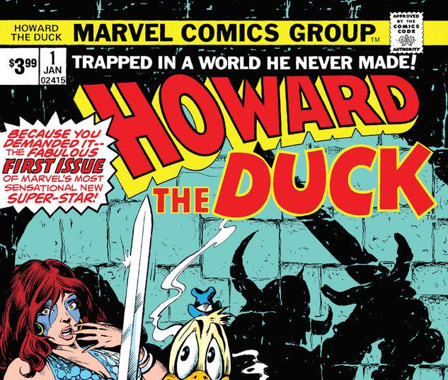 HOWARD THE DUCK 1 FACSIMILE EDITION #266