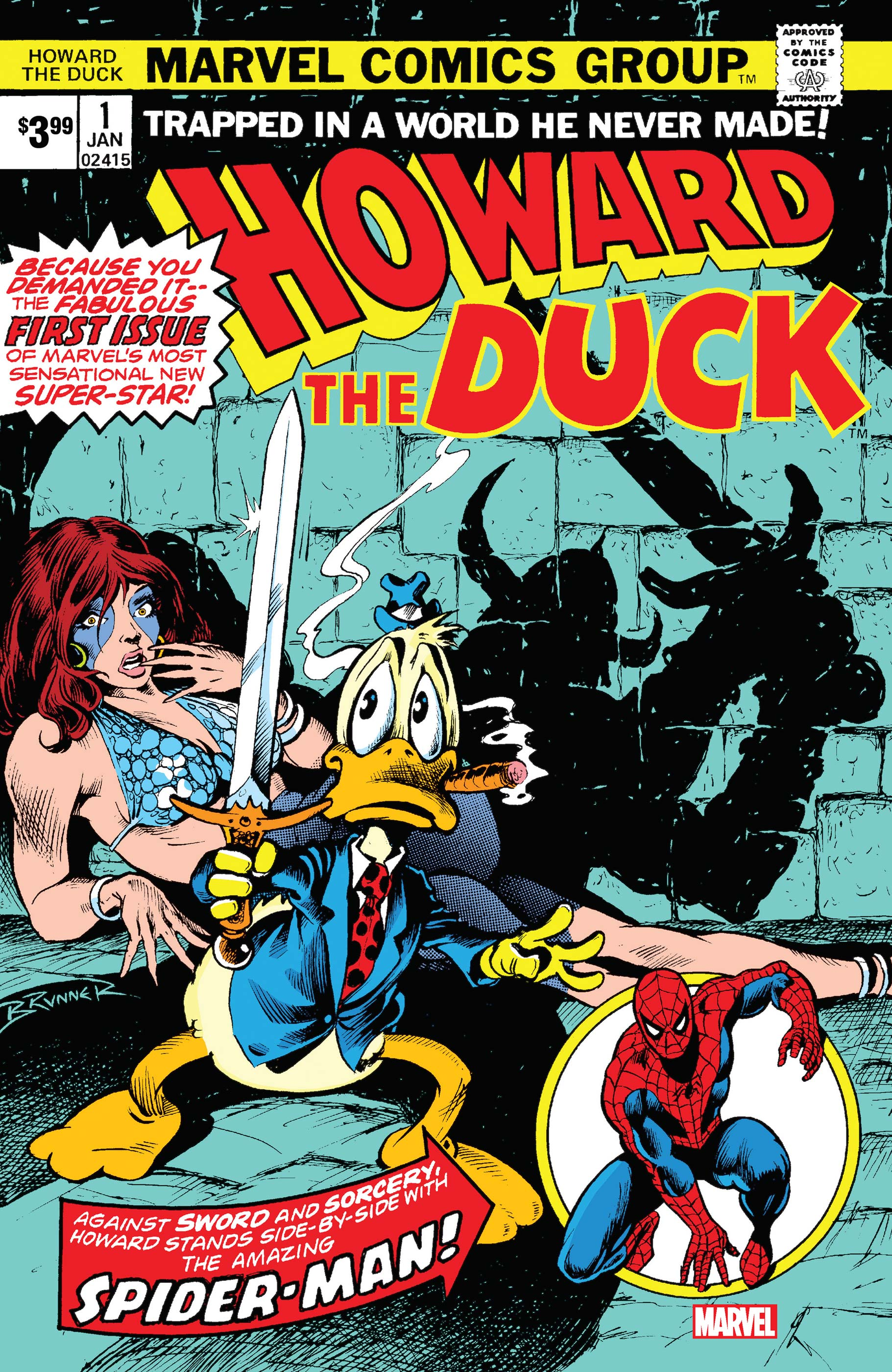 Howard The Duck Facsimile Edition (2019) #1