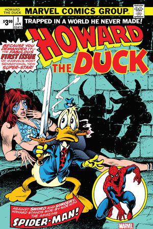 Howard The Duck Facsimile Edition #1