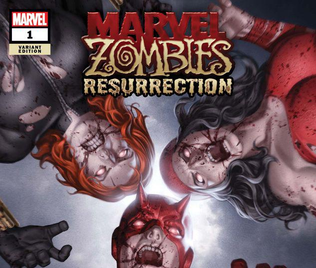 MARVEL ZOMBIES: RESURRECTION 1 JUNGGEUN YOON VARIANT #1