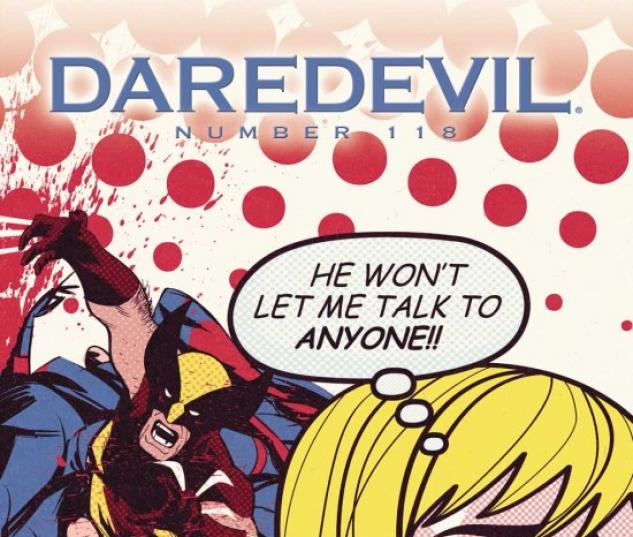 DAREDEVIL #118 (WOLVERINE ART VARIANT)