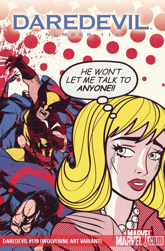 Daredevil (1998) #118 (WOLVERINE ART VARIANT)