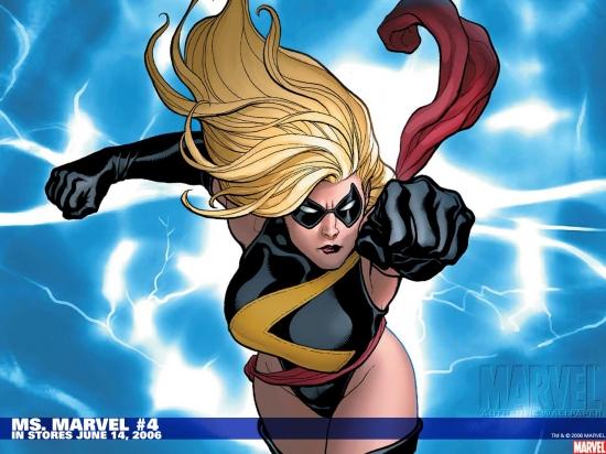 Ms. Marvel (1977) #4 Wallpaper