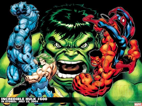 Incredible Hulks (2009) #600 Wallpaper