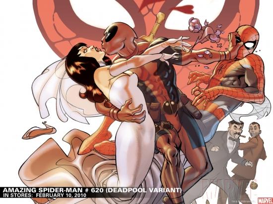 Amazing Spider-Man #620 Deadpool Variant