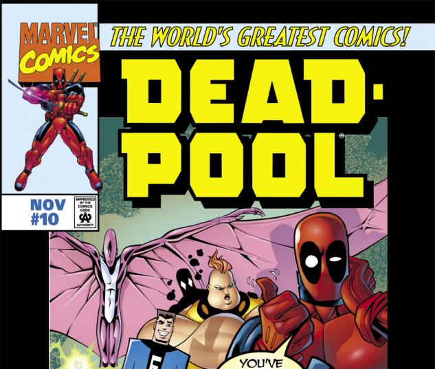 Deadpool (1997) #10