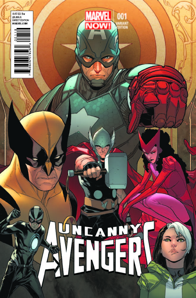 Uncanny Avengers (2012) #1 (Pichelli Variant)