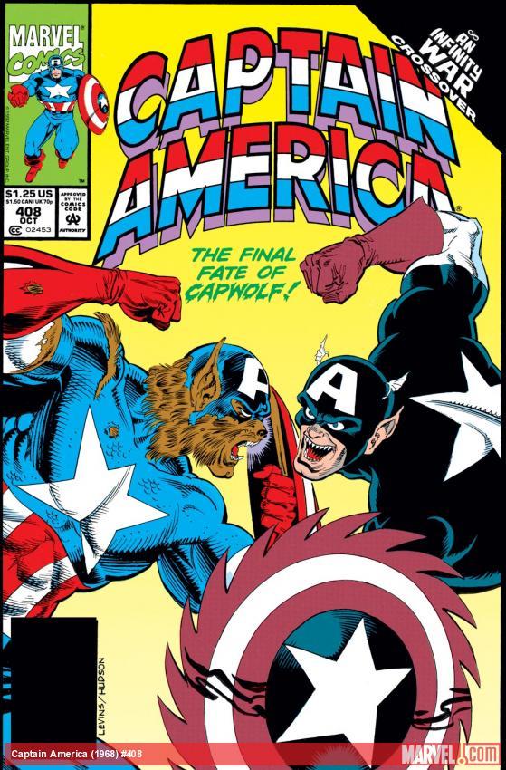 Captain America (1968) #408