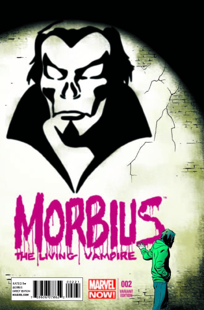 Morbius: The Living Vampire (2013) #2 (Martin Variant)