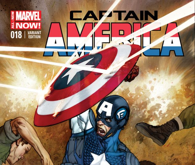 CAPTAIN AMERICA 18 FABRY VARIANT (ANMN, WITH DIGITAL CODE)